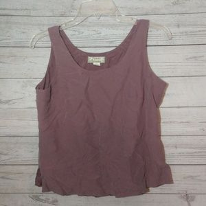 Tommy Bahama silk and linen size 4/6 tank top
